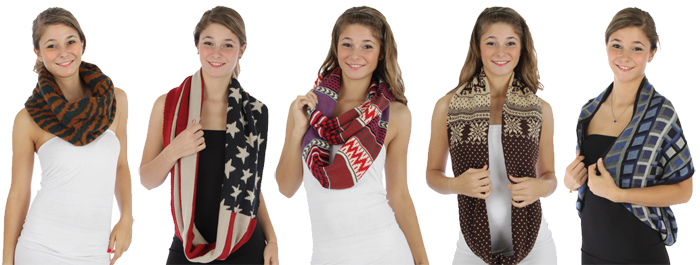wholesale-knit-infinity-pattern-scarves